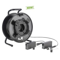 DVM-Serie HDMI® over FIBER4-Kit op haspel 150Mtr
