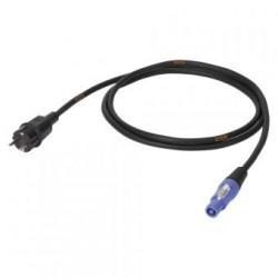 Powercon kabel 2,5M | 3x1,5 mm² Titanex | SUCCO - POWERCON