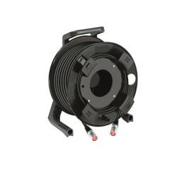 StageCon GT310 Haspel met 75Mtr Cat5e PUR kabel en hulpspoel