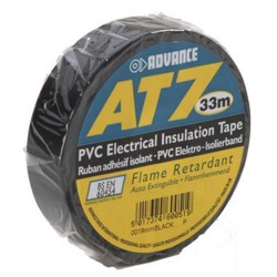 ADVANCE AT7 TAPE 19mm x 33M | ZWART